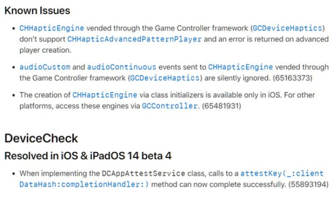 Ios 14 Beta 4 Release Notes Changes New Features And