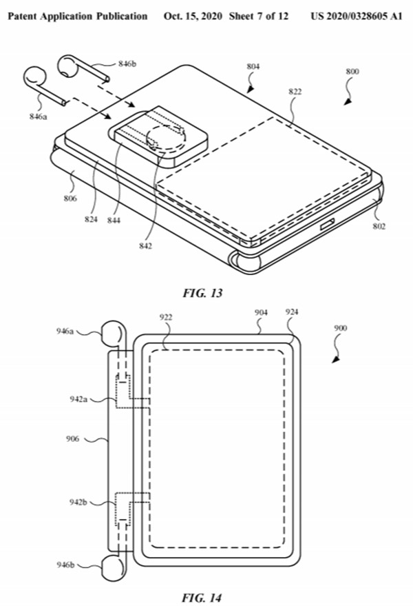 New Apple Patent Shows A MagSafe Battery Case For iPhone