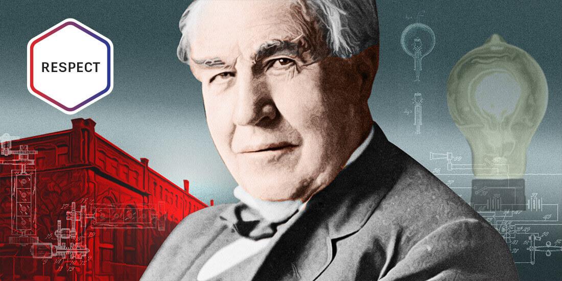 Edison Light Bulb Still