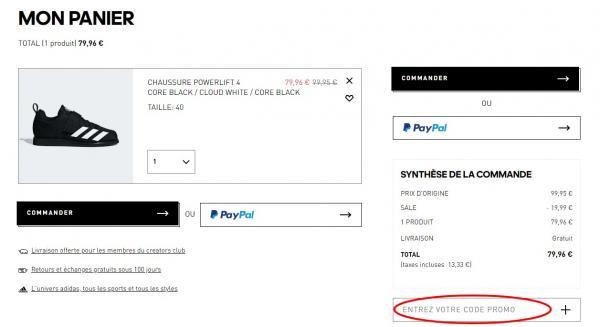 ᐅ Code promo adidas ⇒ obtenez 20% de réduction, janvier