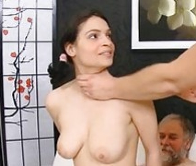 Old Man Has Sex With Young Teen Gets Cock Sucked