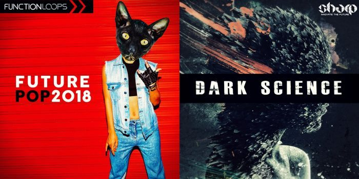 Future Pop 2018 and Dark Science sample packs by Function Loops
