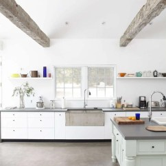 Cement Kitchen Sink Grates Remodeling 101 The Cult Of Concrete Remodelista One Our All Time Favorite Projects Floating Farmhouse In Upstate New York