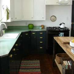 Paint Kitchen Cabinets White Base Cabinet Plans Free Expert Tips On Painting Your Abbey And Phil Hendrickson Transformed Their By The In Forest Canopy A