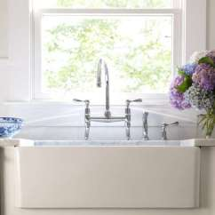 Bridge Faucets Kitchen Kohler Faucet 10 Easy Pieces Architects Go To Traditional Nyc Interior Designer Bella Mancini Used The Easton Classic Two Hole Gooseneck With Lever Handles Starting At 1 250 In