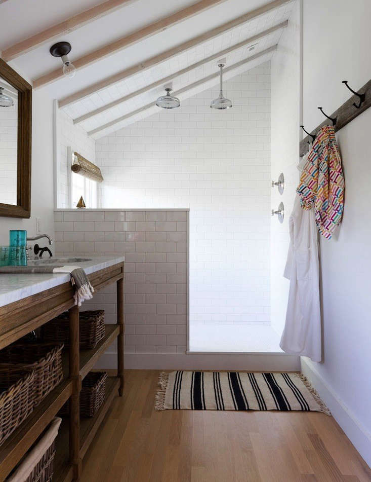 Steal This Look A Masculine Beach House Bathroom  Remodelista