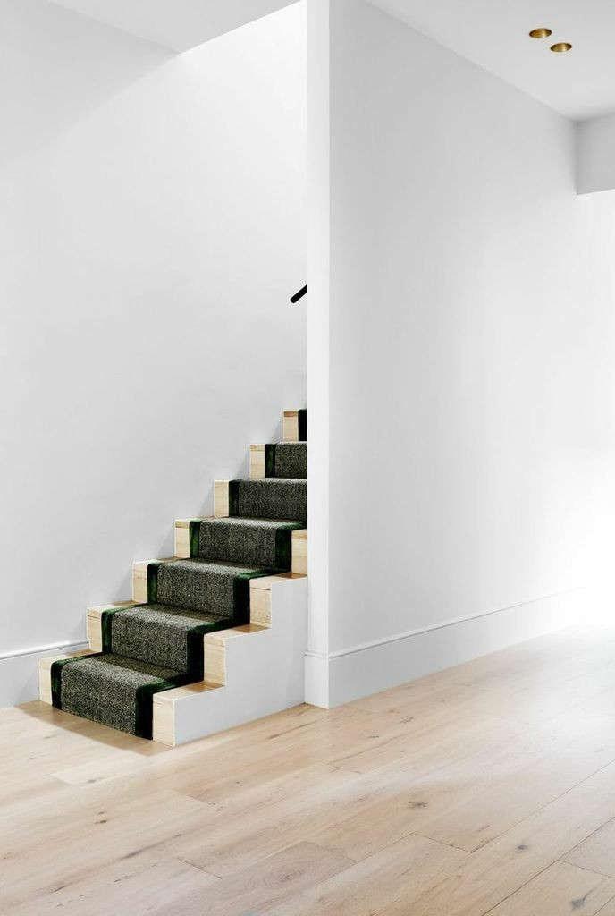 Remodeling 101 All About Stair Runners Remodelista   Stair Carpet Fitting Cost   Hardwood   Stair Treads   Laminate Flooring   Wood   Berber Carpet Runner