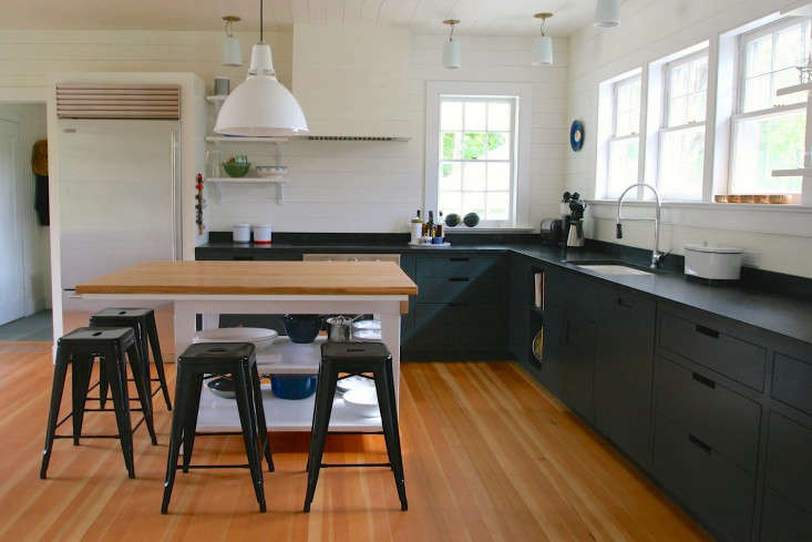 soapstone kitchen counters cabinet fronts remodeling 101 countertops remodelista goode amagansett countertop by siosi design