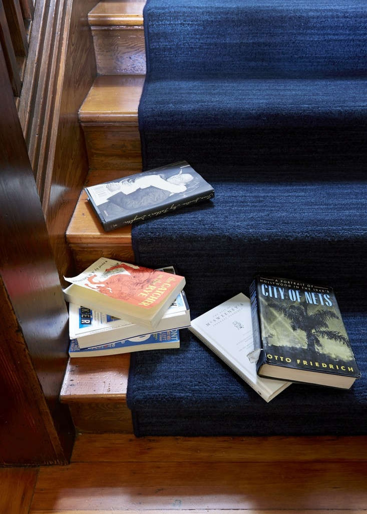 Remodeling 101 All About Stair Runners Remodelista   Average Cost To Carpet Stairs   Measure   Carpet Runner   Handrail   Stair Treads   Carpet Installation Cost