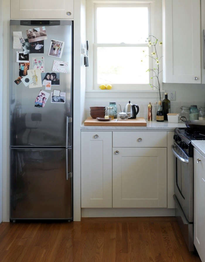 compact appliances for small kitchens kitchen essentials by calphalon best remodelista s 10 easy pieces ore studios seattle and santa fe smaller refrigerator in
