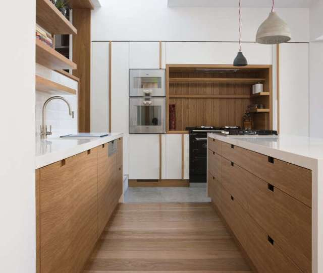 Architect Peter Legge Uses Rectangular Cutouts In A Kitchen In Dublin See The Rest Of