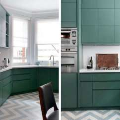Kitchen Linoleum Fat Burning Book Remodeling 101 Affordable And Environmentally Friendly Uk Designer Mark Smith Used Gray White Zigzag Marbled Flooring From London