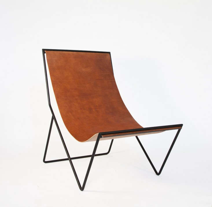 leather sling chairs chalk painted 5 favorites modern remodelista