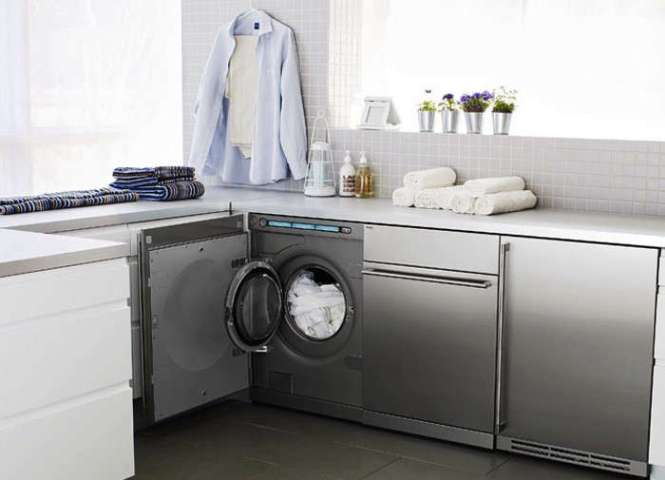 Consider A Compact Washer And Dryer Small Enough To Slide Under Counter Efficient They Re Now Loaded With Features That Used Be Reserved For The
