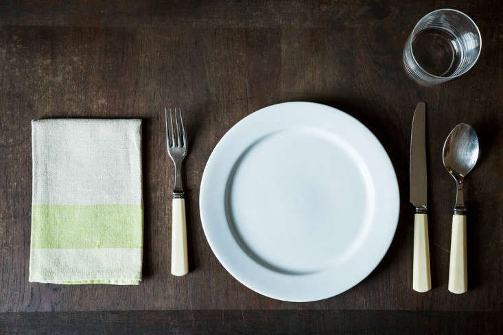 Expert Advice How to Set the Table Courtesy of Food 52  Remodelista