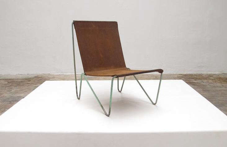 canvas sling chair glass table and white leather chairs 5 favorites modern remodelista