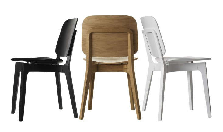 danish dining chair swing ride accident 10 easy pieces the new scandinavian remodelista above designed by stockholm architects claesson koivisto rune for swedese rohsska has a solid oak frame and laminated seat backrest