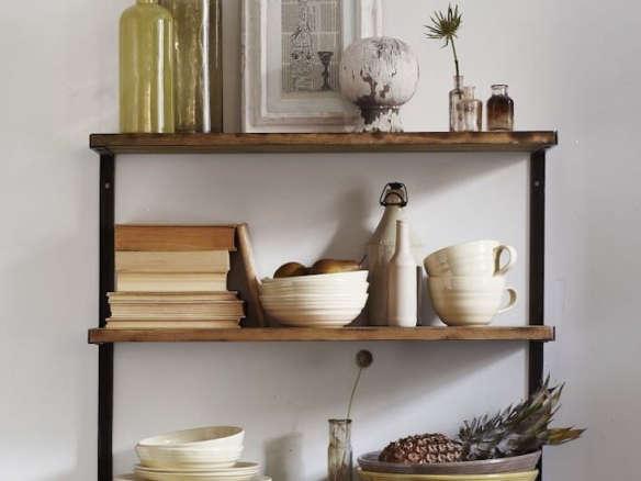 L Beam Wall Shelf