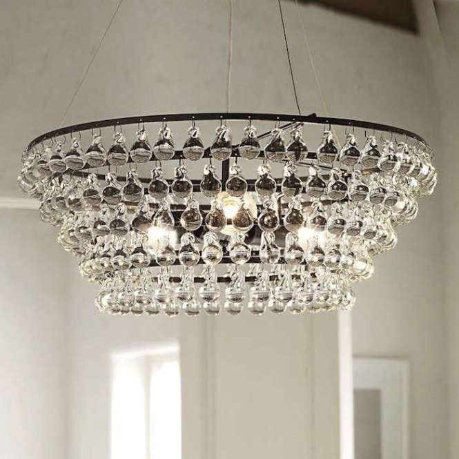 White Company Chandelier