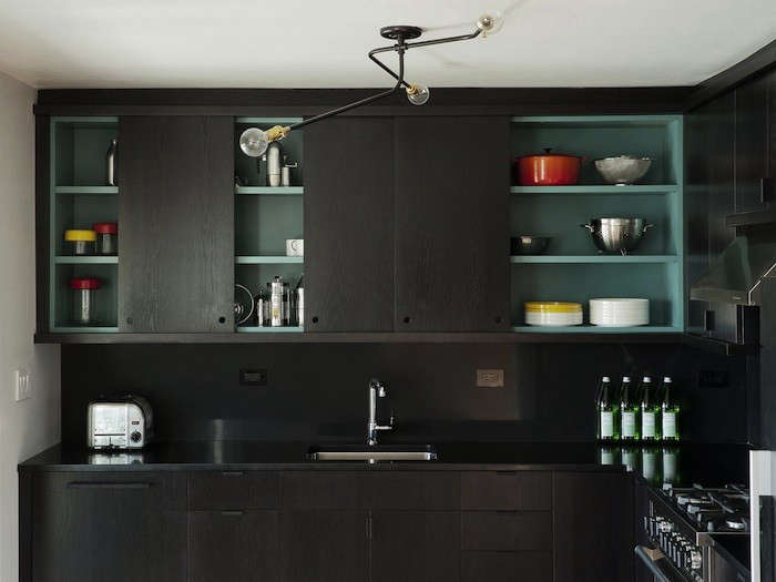 pulls for kitchen cabinets cost of a remodel cutout cabinet 17 favorites from the remodelista noir another workstead project with