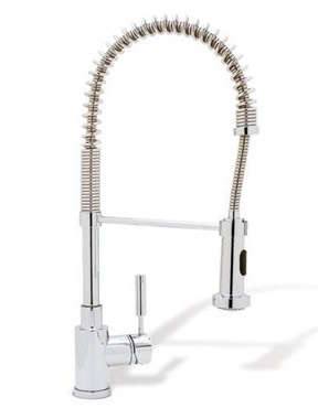 blanco meridian semi professional kitchen faucet discount granite countertops 10 easy pieces: commercial-style faucets - remodelista