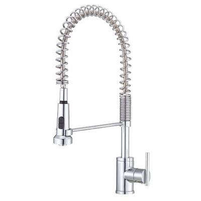professional kitchen faucet beige cabinets 10 easy pieces commercial style faucets remodelista above danze parma single handled pre rinse 276 60 in chrome also available stainless at amazon