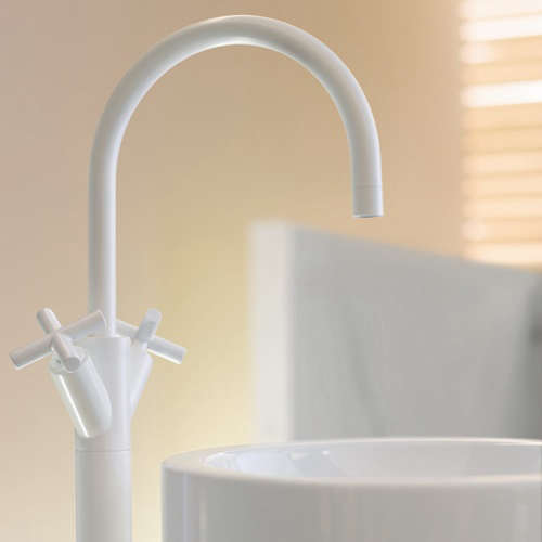 bosch kitchen mixer aid parts bath: dornbracht tara black and white edition faucets ...