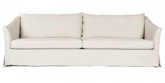 belgian linen sofa antique victorian table 10 easy pieces slipcovered sofas remodelista above the washington 91 inch is in 5 300 from lekker home