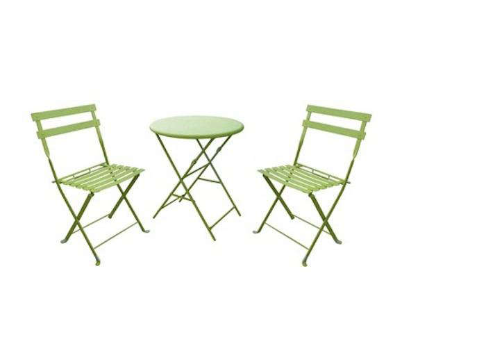 two seater lawn chair swivel clipart 10 easy pieces outdoor bistro tables for with chairs remodelista