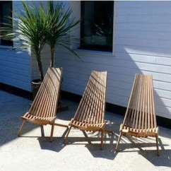 Teak Folding Chairs Canada Hanging Chair Pottery Barn Outdoors Deck From Trinidad In France Remodelista Can Be Folded When Not Use 655 N B Similar Less Costly Clam Sourced Art Box Or Orange Gifts