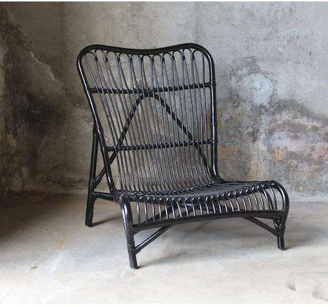 black rattan chair vintage gossip furniture high low remodelista a while back we admired line of from norway see muubs in denmark ikea has just come out with lower priced version