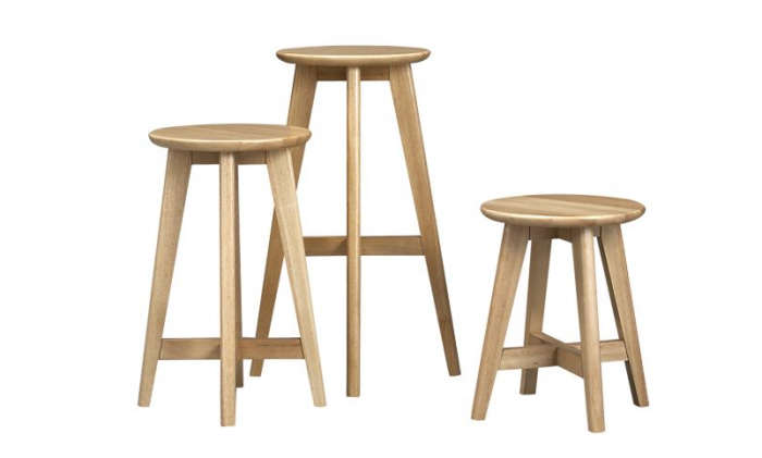 wood stool chair design covers for rent winnipeg 10 easy pieces wooden counter stools remodelista above the natural barstools are made from solid rubberwood with a clear lacquer finish area available in walnut shown and white sized 24