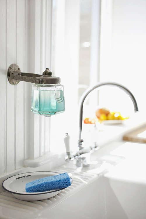 Design Sleuth Vintage Soap Dispenser as Dish Soap Holder