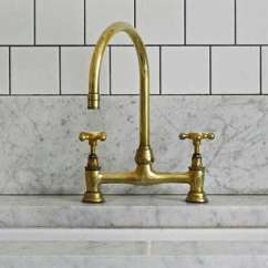 Brass Kitchen Sink Restaurant Setup Cost 5 Favorites Faucets For The Remodelista Above Deck Mounted Faucet With Gooseneck Spout By Family Owned Uk Company Barber Wilson Is 716 At Quality Bath From Trade Secrets Notting Hill