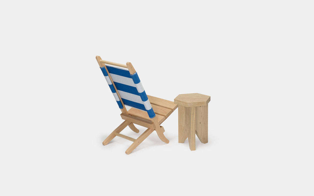 Folding Wood Beach Chair High Low The Folding Wood Beach Chair Remodelista