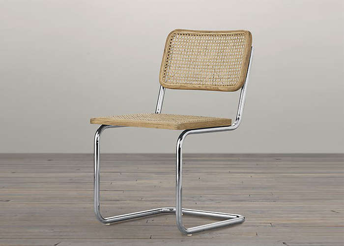 dining chairs with caning restoration hardware egg chair 10 easy pieces caned remodelista bauhaus side