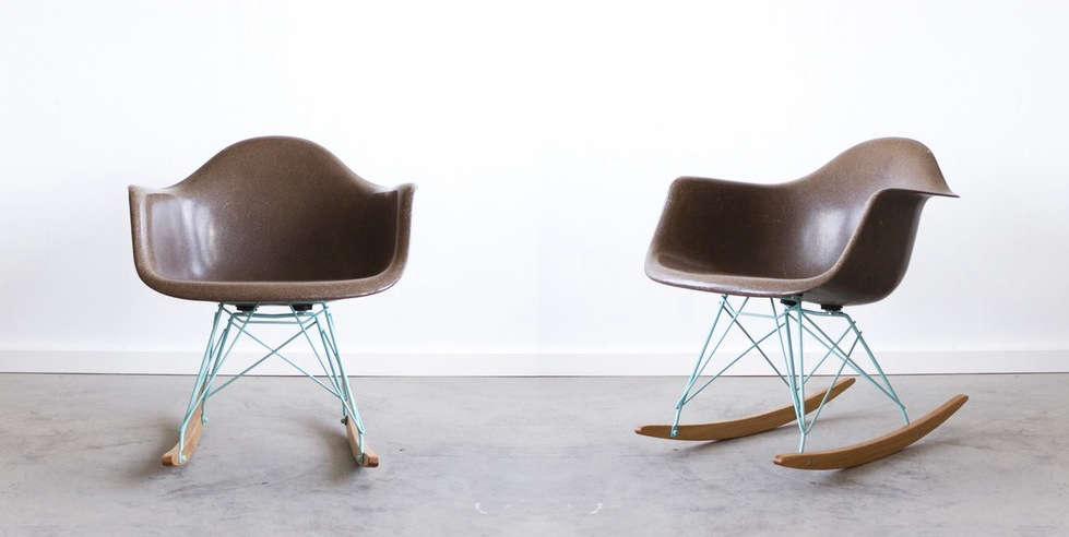 custom rocking chairs texas chair cover backs wedding modified modern: reimagined midcentury furniture from cast + crew in marfa - remodelista