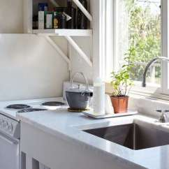 Large Sink Kitchen Unfinished Cabinet Doors Remodeling 101 Single Bowl Vs Double Sinks In The A Stainless Steel Chic Fixer Upper On Fire