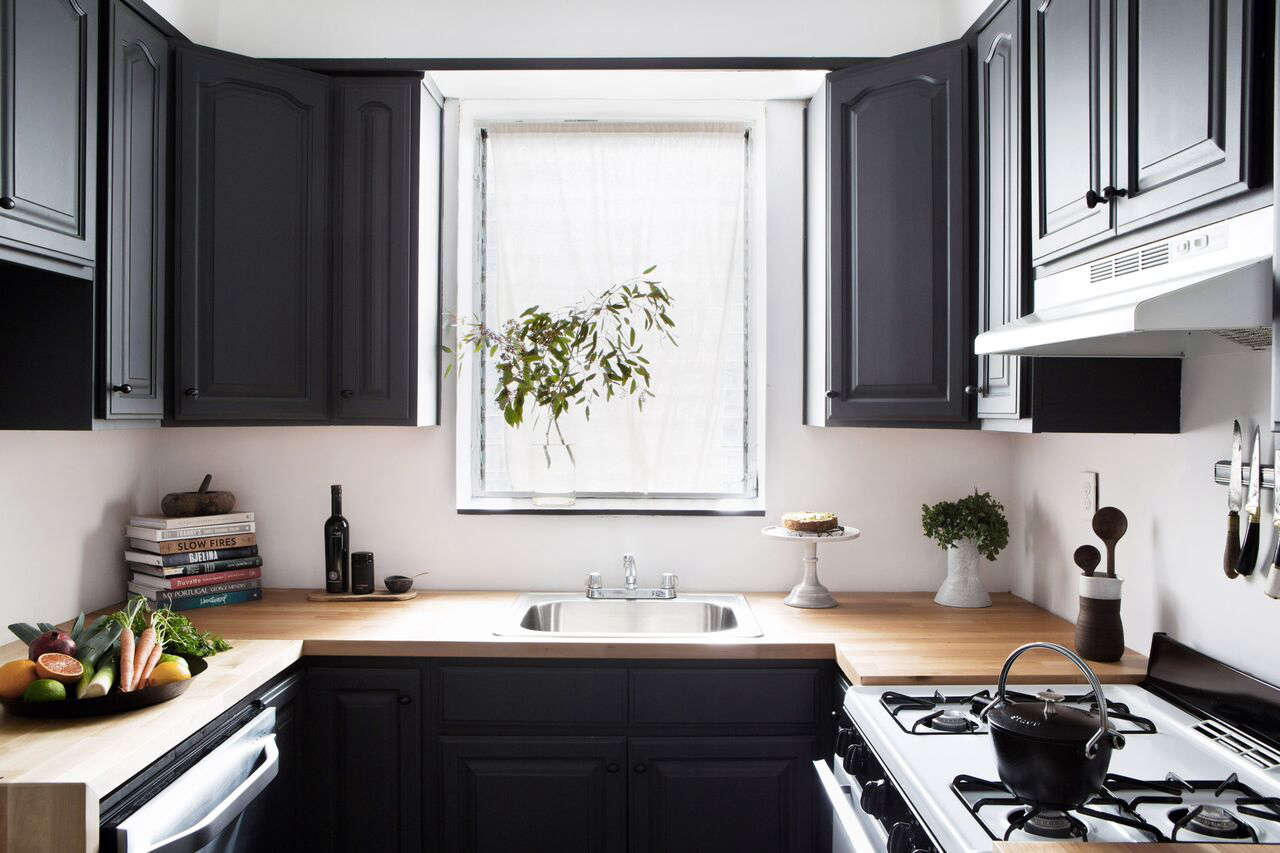 ikea kitchen upper cabinets touchless faucets remodeling 101: butcher block countertops - remodelista