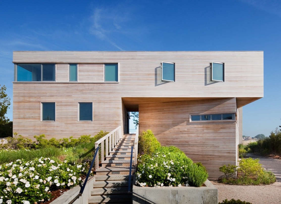 Best Kitchen Gallery: 10 Modern Wood Beach Houses From The Remodelista Architect Designer of Modern Beach House on rachelxblog.com