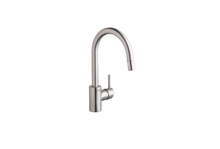 gooseneck kitchen faucet with pull out spray amish table 10 easy pieces: modern single-lever ...