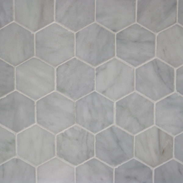 Carrara Hexagon Tiles