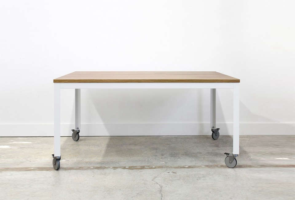 10 Easy Pieces Dining Tables On Wheels  Remodelista