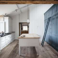 Farmhouse Kitchen Cabinets Grey Tile Of The Week Plain English Power In Numbers Blue A Modern Spin On Classic By