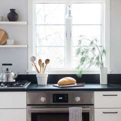 Bosch Kitchen Pot Hangers A Japanese Inflected With Home Appliances Remodelista Inspired Stove