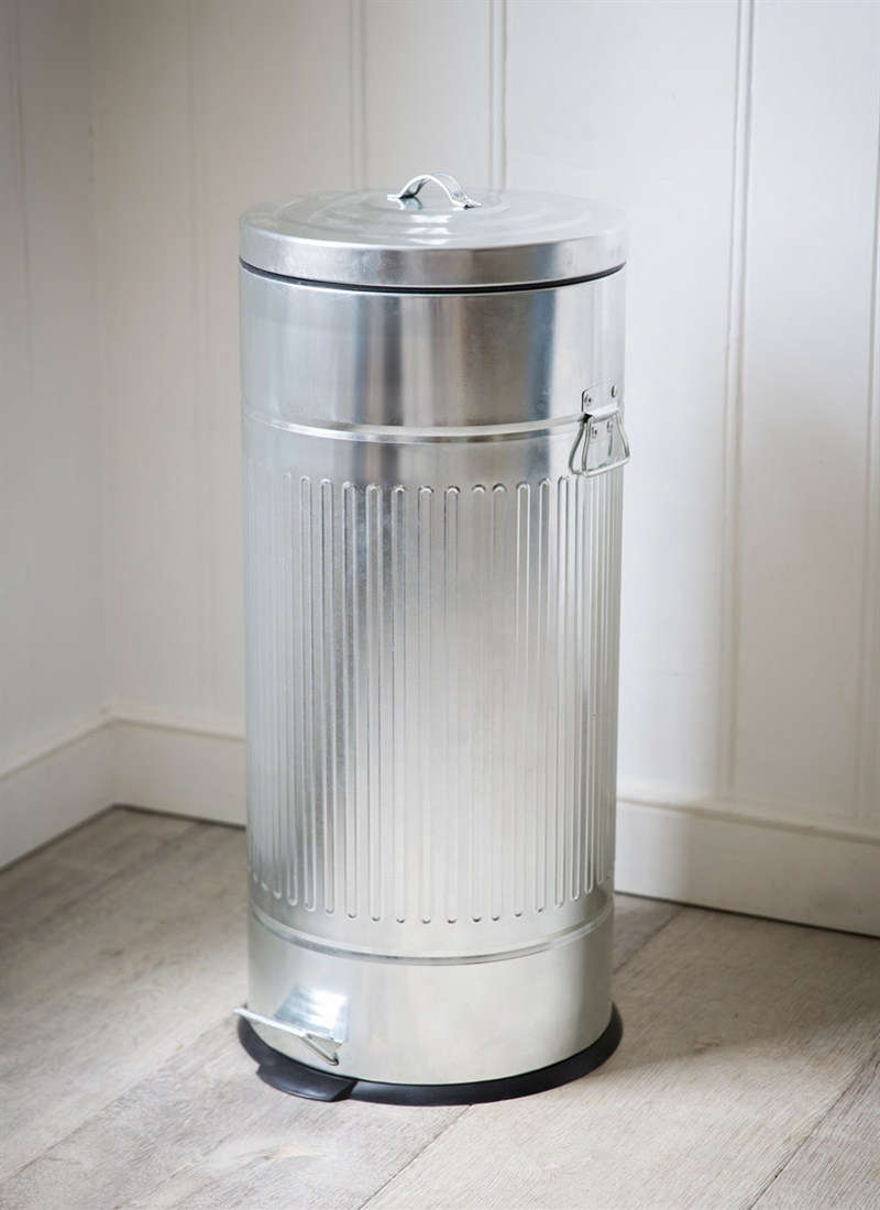 Metal Kitchen Pedal Bin