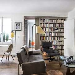 Arranging Furniture In A Small Rectangular Living Room Corner Tv 9 Small-space Ideas To Steal From Tiny Paris Apartment