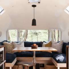 Used Kitchen Cabinets Indiana Cabinet Showrooms Vintage Airstream Custom-built For Modern Living On The Go