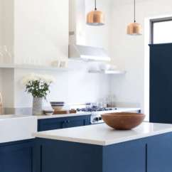 Blue Kitchen Island Furniture Ikea Trend Alert The Cult Of 10 Favorites Remodelista Editor Peggy Wang Opted For Gyngell S Pick Hague By Farrow Ball In