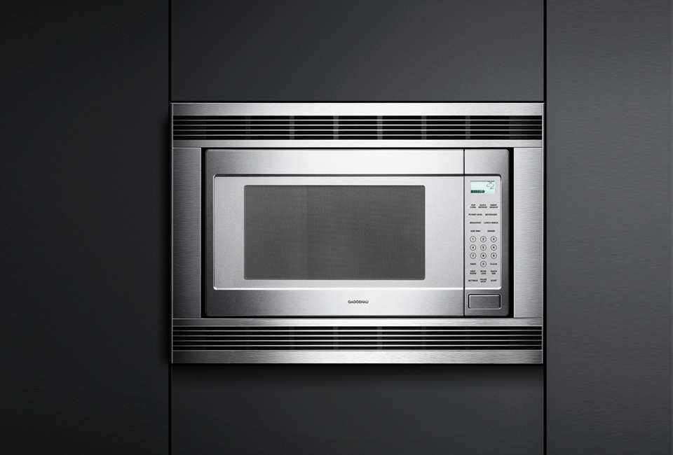 kitchen aid professional backsplash wallpaper 10 easy pieces: built-in microwaves - remodelista